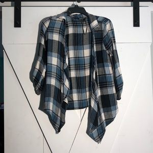 About a Girl Flannel Cardigan